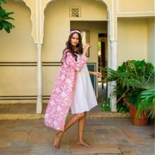 <p>NoLoGo's lovely nightwear is in pure, soft cottons. Embroideries inspired by fragments of antique nightdresses. Hand printed florals printed with care, using hand carved blocks and encompassing ancient printing traditions. Nightwear to treasure. &nbsp;&nbsp;</p>