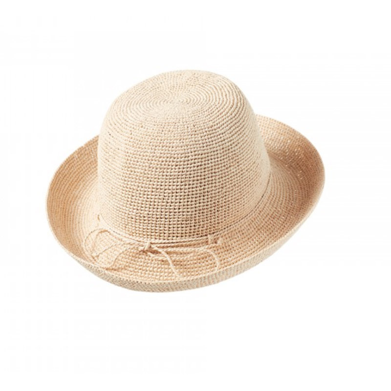 622d150381fa68 Helen Kaminski Provence 8 Crochet Raffia Hat Natural