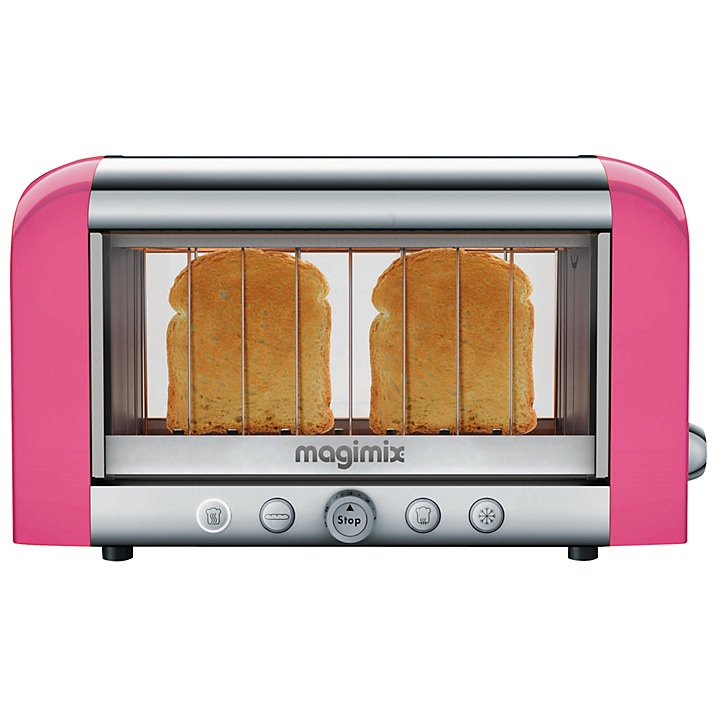 magimix vision toaster pink. Black Bedroom Furniture Sets. Home Design Ideas