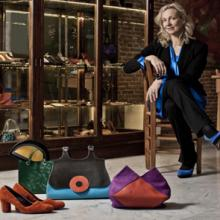 Hester van Eeghen is a Dutch designer of leather bags, wallets and accessories. Every Hester van Eeghen design is infused with her five essential elements: Beauty, Passion, Shape, Colour & Surprise.