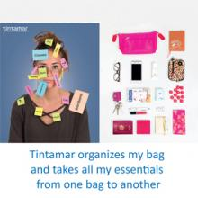 <span>Tintamar creates practical and ingenious bag organisers for free spirited women on the go! Their mission: to assist women in their daily lives by adapting to their lifestyles and trends. Their ever-evolving pieces are designed for the free-spirited, independent women of our time, who crave a world of bright colours and organised good fun.</span>