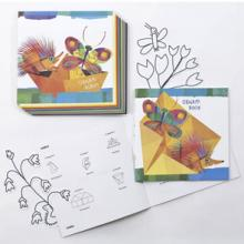 Magic Wood is a new collection dedicated to children from 3 to 6 years. The characters were designed by Giulia Orecchia, well known Italian author and illustrator. All products are printed on Old Mill watermarked FSC certified, acid and chlorine free paper.